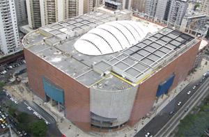 Imagen de la construcción del polémico centro comercial. | Sambilmall.com