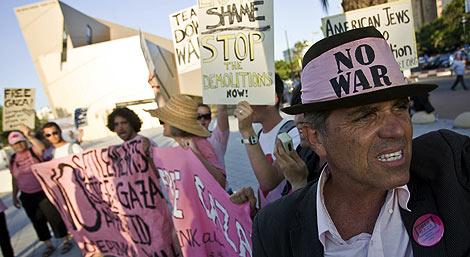 Protesta de judíos americanos contra la política del Gobierno israelí. | AFP