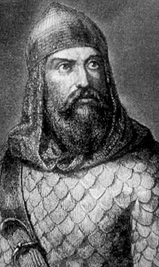 Rodrigo Díaz de Vivar, El Cid.