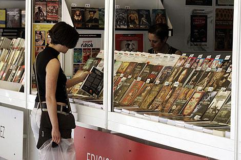 El futuro de los libros pasa por la Red. | Foto: Diego Sinova