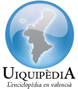 Imagen corporativa de la enciclopedia libre en valenciano.