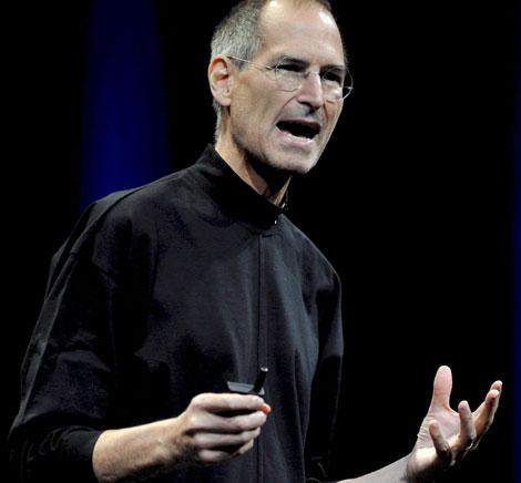 Steve Jobs, durante una presentación en San Francisco en junio de 2008.   Efe