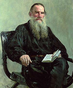 Tolstoi, el 'rey León' de la literatura rusa.