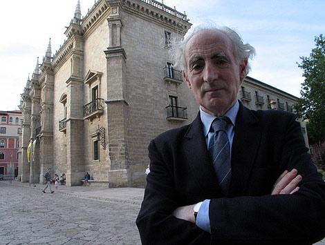 El fallecido Julio Valdeón, en una de sus últimas entrevistas. | EL MUNDO