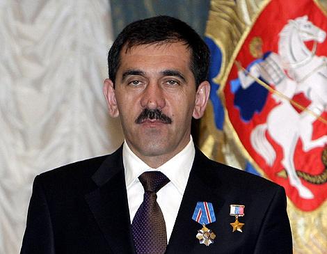 El presidente de Ingushetia, Yunus-bek Yevkúrov. | Efe
