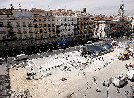 Imagen del intercambiador de la Puerta del Sol. (A. Di Lolli)