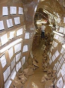 'Cavemanman' del artista suizo Thomas Hirschhorn.