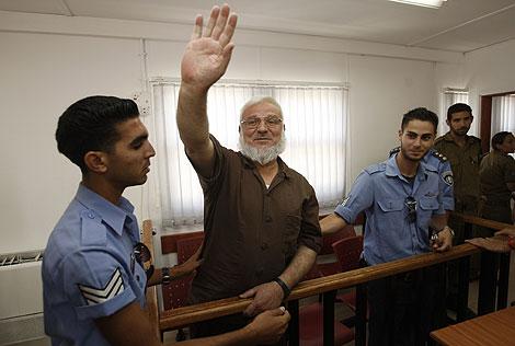 El presidente del Parlamento palestino ha estado cerca de tres años encarcelado en Israel. | Reuters