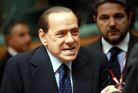 El primer ministro italiano, Silvio Berlusconi.   Efe