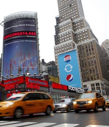 Imagen de Liberty Street , en el barrio de Manhattan de Nueva York. | REUTERS