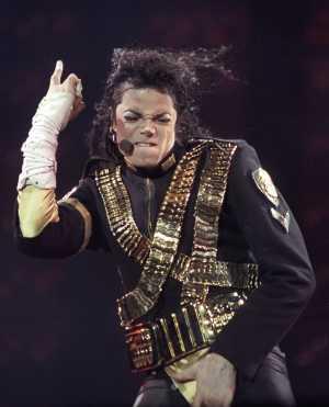 Michael Jackson, en una actuación en Sao Paulo en 1993. (Foto: Reuters)