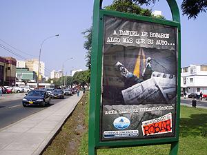 Publicidad ubicada en el distrito de Magdalena en Lima. (Foto: W. Fernández)