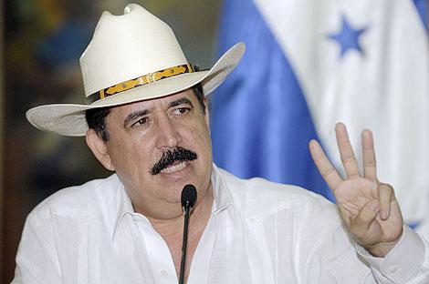 El presidente de Honduras, Manuel Zelaya. | AP