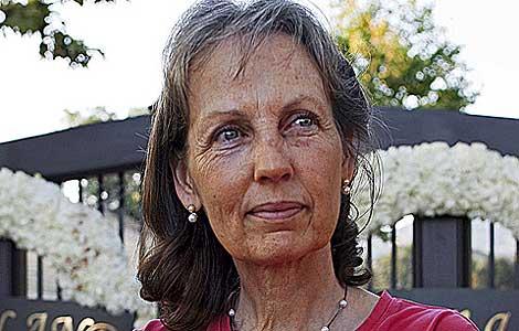 Judy Brisse, en el rancho. | Isaac Hernández