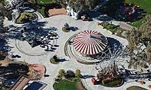 Vista aérea de 'Neverland' en su época dorada. | Efe