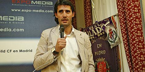 Pérez Caminero, ex jugador del Real Valladolid.