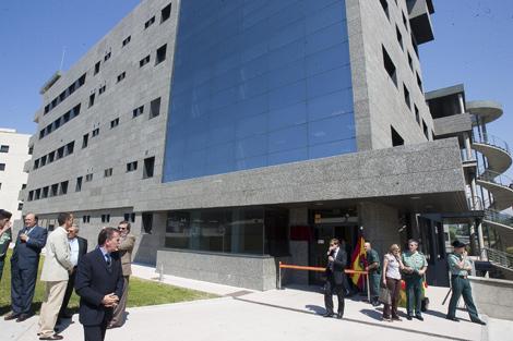 Imagen del cuartel de la Guardia Civil inaugurado por Rubalcaba en Intxaurrondo. | I. Andrés