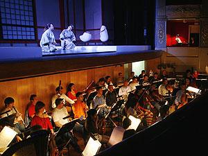Ensayos de una ópera en el Teatro Principal
