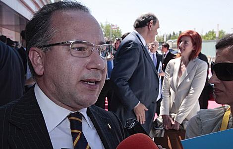 Francisco José Alcaraz, ex presidente de la AVT. | Gonzalo Arroyo