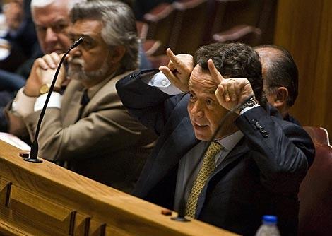 El ya ex ministro de Economía, Manuel Pinho. | Reuters
