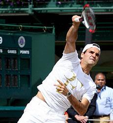 Roger Federer. | Efe