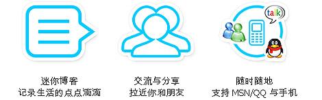 Página principal de fanfou.com