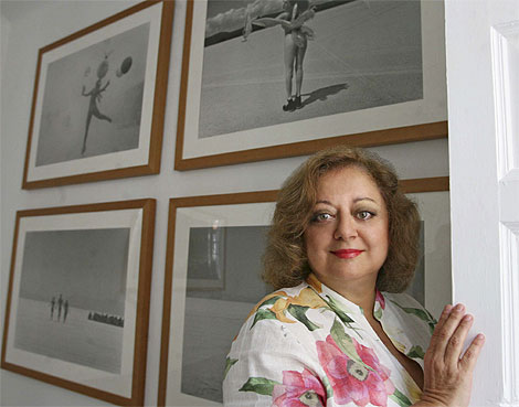 Cristina García Rodero. | José Aymá