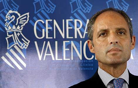 Francisco Camps, presidente de la Generalitat valenciana. | Efe
