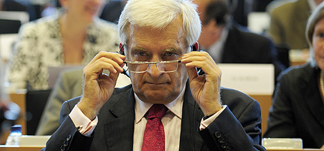 Jerzy Buzek en una reunión del PPE.   Afp