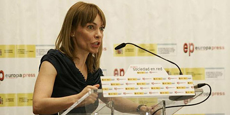 María Garaña, en el Foro de Europa Press. | EP
