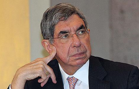 El presidente de Costa Rica, Óscar Arias, ganó el Nobel de la Paz en 1987.   Efe