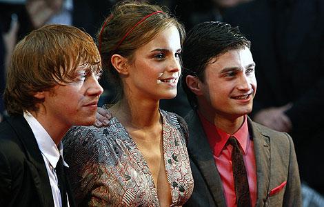 Los tres protagonistas de la saga.   Reuters