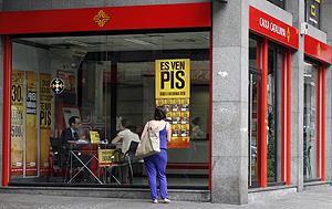 Una de las 'inmocorners' puestas en marcha por la entidad catalana | Caixacatalunya.es