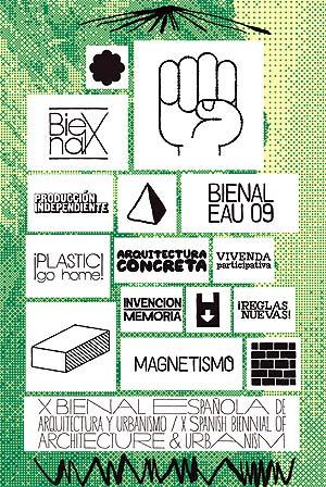 Cartel de la Bienal EAU09.