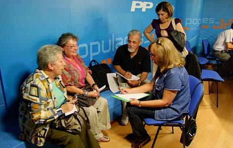 Reunión de la Unión Canario-Venezolana del día 18 de junio   Foto: blog UCVE