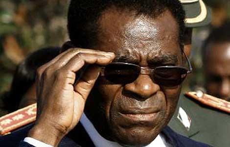 Teodoro Obiang, presidente de Guinea Ecuatorial.   Begoña Rivas