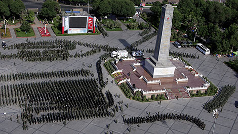 El centro de Urumqi continua tomado por las fuerzas de seguridad. | Reuters
