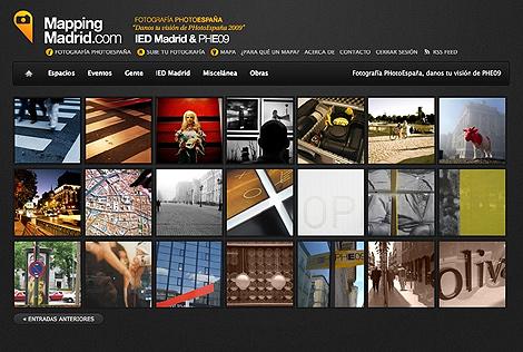 Todas las fotografías que sean colgadas recibirán una votación por los visitantes de la página web.   Alfredo Merino
