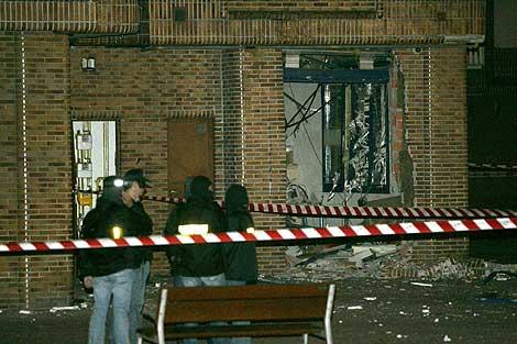 Imagen de los destrozos causados por la explosión. | Carlos García