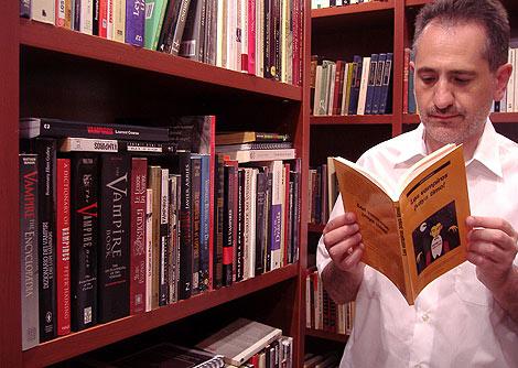 Jordi Ardanuy, autor de 'Los Vampiros ¡Vaya Timo!'.