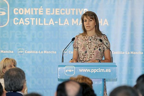 De Cospedal, en la clausura del Comité Ejecutivo del PP en Castilla La Mancha. | Efe