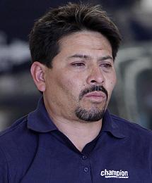 Arnoldo Rueda, alias 'La Minsa', capo de 'La Familia', tras su detención. | AP