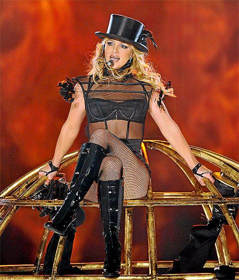 Britney Spears en la entrega de los premios 'Bambi'. | Foto: Efe