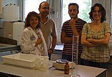 El grupo de investigadores.