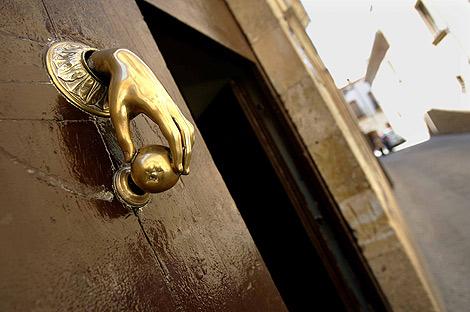 Puerta del Palacio de los Aguilas. | Enrique Carrascal