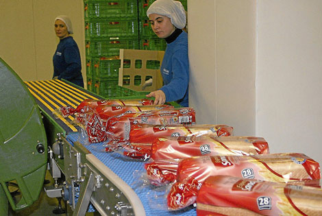 Proceso de fabricación en la planta que tiene Siro en Aguilar de Campoo. | Brágimo
