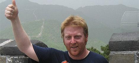 Matt Stewart en una foto de su página web