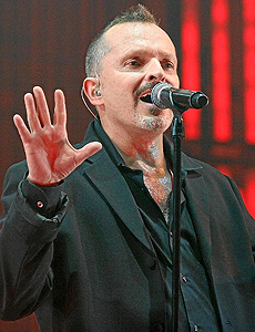 Miguel Bosé. | Foto: Carlos Díaz