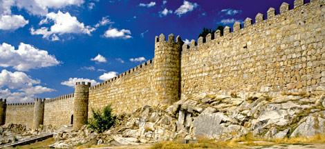 Vista de las murallas de Ávila. | eclectika
