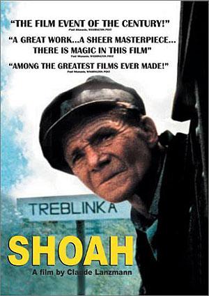 Cartel de 'Shoah' de Claude Lanzmann.